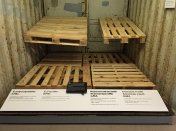 I was shocked - Pallets are different sizes everywhere!