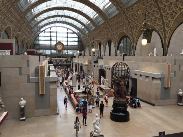 Day 25 ~ Sunday at the Orsay and a lazy evening!