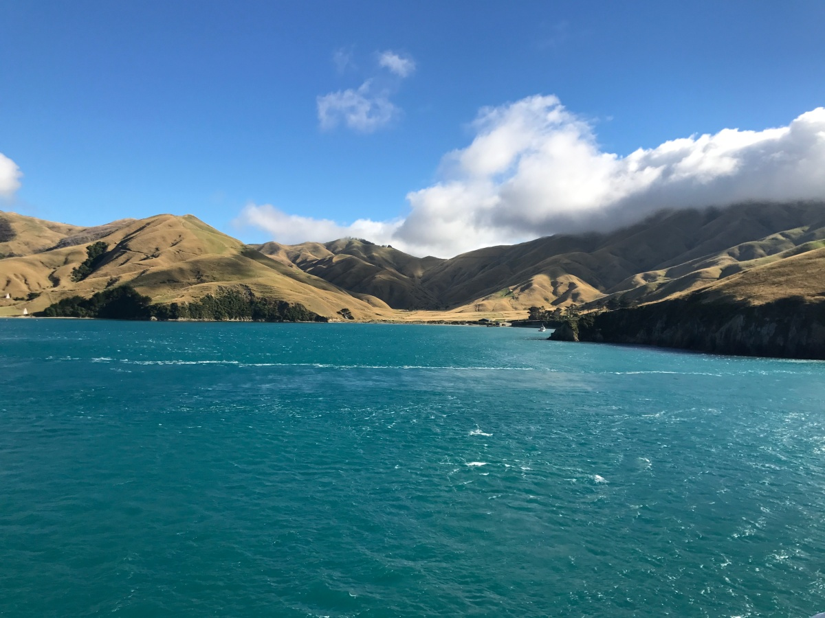 Going to the South Island – but not really South!