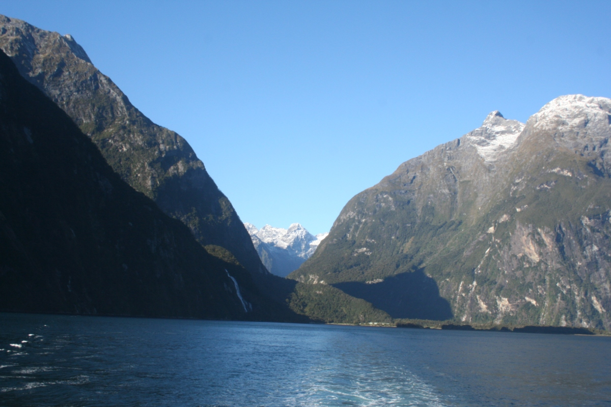 The Milford Road, Milford Sound, and the Glowworm Caves